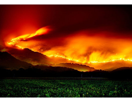 California: No direct impacts from fires yet reported for fresh produce, says CFFA.